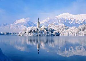озеро блед